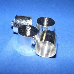 Bőrvég (43 minta/1 db) - 16x14 mm (csimbo) - Meska.hu