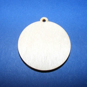 Fa alap (160. minta/1 db) - akasztós kör (Ø 35 mm) (csimbo) - Meska.hu