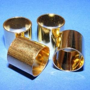 Cső-8/A (13x14 mm/1 db), Gyöngy, ékszerkellék,  Cső-8/A - arany színben  Mérete: 13x14 mm (belül: 13 mm)  Az ár egy darab termékre vonatkozik.  ..., Meska