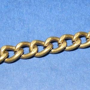 Táskalánc (9x6mm/120 cm) - bronz színű (csimbo) - Meska.hu