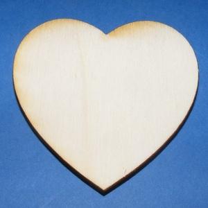 Fa alap (83. minta/1 db) - nagy szív, Fa, Egyéb fa, \nFa alap (83. minta) - nagy szív\n\r\n\r\n\nMérete: 6x6,5 cmAnyaga: natúr rétegelt lemezAnyagvastagság: 3 ..., Meska