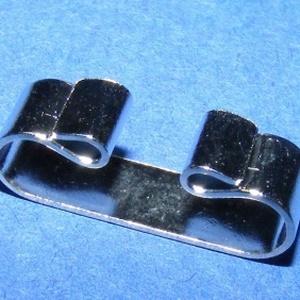Amerikai nyakkendő alap (412/A minta/1 db)  , Gyöngy, ékszerkellék, Ékszerkészítés,  Zsinór (amerikai) nyakkendő alap (412/A minta) - platinum színben  Az alapra az  ízlésednek és el..., Alkotók boltja