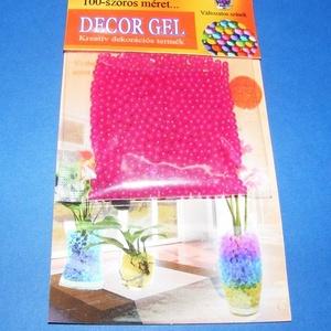 Dekorgél/biogél (10 g/1 db) - rózsaszín (csimbo) - Meska.hu