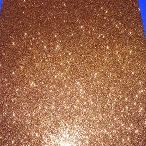 Glitteres dekorgumi (A/4 méret/1 db) - bronz - Meska.hu