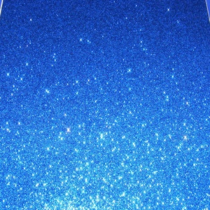 Glitteres dekorgumi (A/4 méret/1 db) - kék (csimbo) - Meska.hu