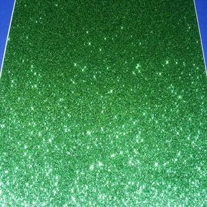 Glitteres dekorgumi (A/4 méret/1 db) - zöld, Vegyes alapanyag,  Dekorgumi - glitteres - zöld - A/4 méret  Az egyik legnépszerűbb és legolcsóbb alapanyag, sok techn..., Meska