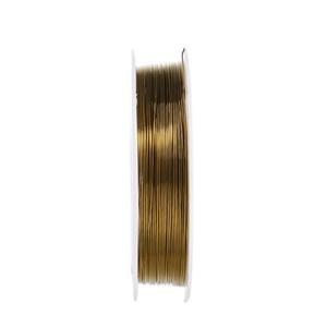 Ékszerdrót (� 0,5 mm/1 db) - bronz -  - Meska.hu
