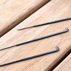 Fém nemezelő tű (1 db) - durva, Szerszámok, eszközök,  Fém nemezelő tű - durva fogazattal  Egy speciálisan formázott tű, kis bemetszésekkel az alsó részén..., Meska