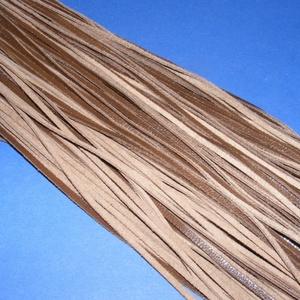 Bőrszíj - 3x1 mm (106. minta/1 db) - csokibarna, Egyéb alapanyag, Bőrművesség, \nBőrszíj (106. minta) - csokibarnaValódi, puha hasított marhabőrből készült.Nyaklánc alapokhoz és fo..., Meska