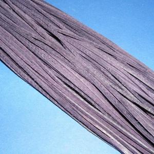 Bőrszíj - 3x1 mm (115. minta/1 db) - padlizsánlila  (csimbo) - Meska.hu