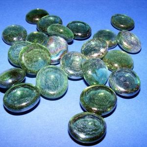 Üvegkavics-14 (300 g) - csillogó zöld, Vegyes alapanyag, Mindenmás, \n\n\nÜvegkavics-14 - csillogó zöld\nA lencsék mérete: 2-3 cmKiszerelés: kb. 300 g\n\n\nTöbbféle színben.\n\n..., Meska