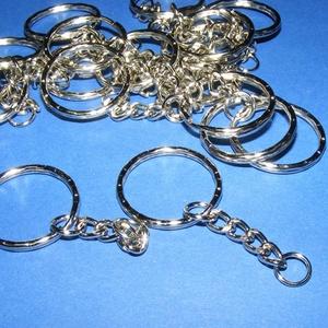 Kulcskarika lánccal (468/E minta/1 db) - 25 mm (csimbo) - Meska.hu