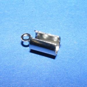 Nemesacél bőrvég (STAS-9 minta/1 db) - 10,5x5 mm (csimbo) - Meska.hu