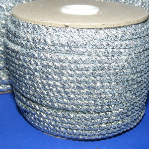 Sodrott zsinór - 3 mm (ZS104/1 m) - ezüst (csimbo) - Meska.hu