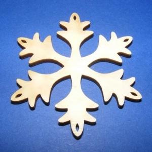 Fa alap (99. minta/1 db) -  kicsi hópehely, Fa, Egyéb fa, \nFa alap (99. minta) - kicsi hópehely\n\r\n\r\n\nMérete: 3x3 cmAnyaga: natúr rétegelt lemezAnyagvastagság:..., Meska