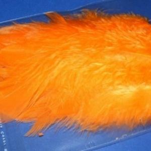 Dekorációs toll-50 (20 db) - narancssárga (csimbo) - Meska.hu