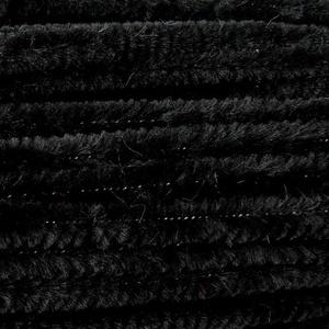 Zseníliadrót (Ø 6 mm/30 cm) - fekete - Meska.hu