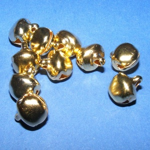 Arany csörgő (2. minta/10 db) - 12 mm (csimbo) - Meska.hu