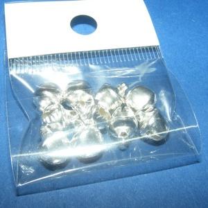 Ezüst csörgő (1. minta/10 db) - 10 mm (csimbo) - Meska.hu