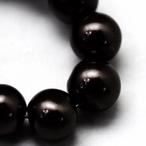 Viaszgyöngy-46 (Ø 4 mm/~ 230 db) - fekete (csimbo) - Meska.hu