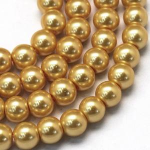 Viaszgyöngy-40 (Ø 4 mm/~ 230 db) - arany (csimbo) - Meska.hu
