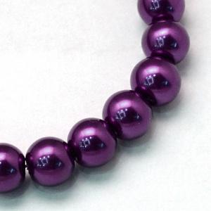 Viaszgyöngy-26 (Ø 6 mm/~ 150 db) - extra lila, Gyöngy, ékszerkellék, Gyöngy, \nViaszgyöngy-26 - extra lila\n\nMéret: Ø 6 mmFurat: 1 mm\n\nA csomag tartalma: kb. 150 db viaszgyöngy\nAz..., Meska