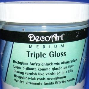 Triple Gloss színtelen lakk (1 db) - 118 ml (csimbo) - Meska.hu