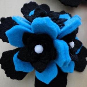 Dekorfilc (2 mm/puha) - fekete - textil - Meska.hu