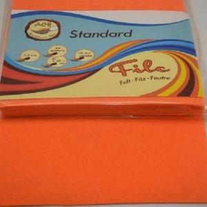 Dekorfilc (2 mm/puha) - sötét narancssárga, Textil, Varrás, \n\nDekorfilc - puha - sötét narancssárga\n\nMérete: 30x20 cmVastagsága: 2 mm\n\nA filc anyag, könnyen vág..., Meska