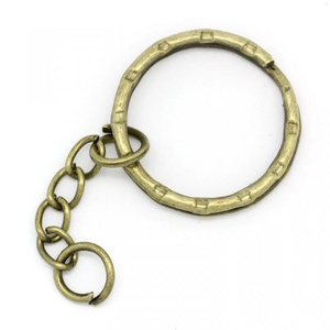 Kulcskarika lánccal (468/A minta/1 db) - 25 mm  (csimbo) - Meska.hu