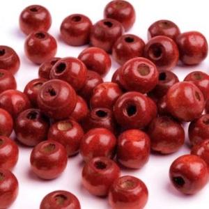 Festett fagyöngy-47 (Ø 10 mm/15 g) - vörösesbarna, Gyöngy, ékszerkellék,  Festett fagyöngy-47 - vörösesbarna  Mérete: Ø 10 mmFurat: 3 mm  Kiszerelés: 15 gA csomag tartalma: ..., Meska