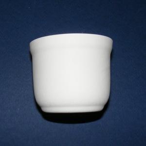 Fehér cserépkaspó (Ø 7,5 cm/1 db) , Cserép,  Fehér cserépkaspó  Külső átmérő: Ø 7,5 cmBelső átmérő: Ø 6,5 cmMagassága: 6,3 cmTalpátmérő: Ø 5 cm ..., Meska