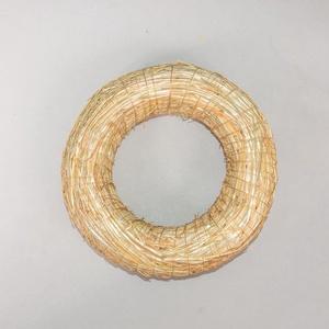 Szalmakoszorú (Ø 16 cm/1 db) - Meska.hu