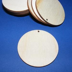 Fa alap (179. minta/1 db) - fúrt korong (Ø 60 mm), Fa,  Fa alap (179. minta) - fúrt korong   Mérete: Ø 60 mmA furat mérete: 2 mmAnyaga: rétegelt lemezAnyag..., Meska