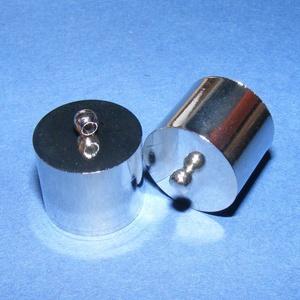 Bőrvég (46. minta/1 db) - 18x18 mm - Meska.hu