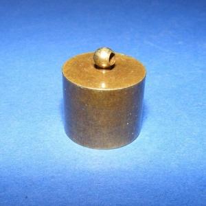 Bőrvég (47. minta/1 db) - 18x18 mm - Meska.hu