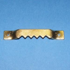 Fogasakasztó (1 db) - 40x7 mm, Csat, karika, zár,  Fogas akasztó - arany  Mérete: 40x7 mm  Az ár egy darab termékre vonatkozik.  , Meska