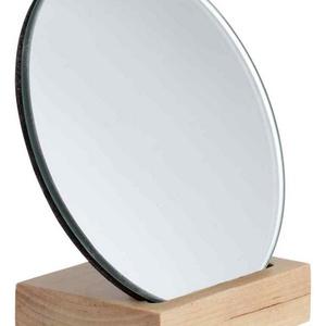 Vágott tükör (Ø 15 cm/1 db) - kerek, Vegyes alapanyag,  Vágott tükör - kerek  Mérete: Ø 15 cmVastagsága: 3 mm Az ár egy darab termékre vonatkozik., Meska
