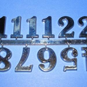 Arab számsor (116. minta/antik ezüst) - 25 mm, Számok, betűk, Mindenmás, \n\nSzámsor (116. minta) - antik ezüst - arab számokkal\n\r\n\r\n\nMérete: 25 mm\n\r\n\r\n\nA számsort ragasztóval..., Meska