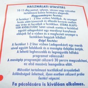Columbus ruhafesték (5 g/1 db) - türkizkék - Meska.hu