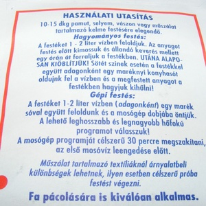 Columbus ruhafesték (5 g/1 db) - türkizzöld - Meska.hu