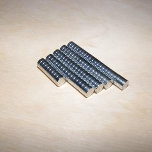 Neodym mágneskorong (5x3 mm/1 db) - Meska.hu