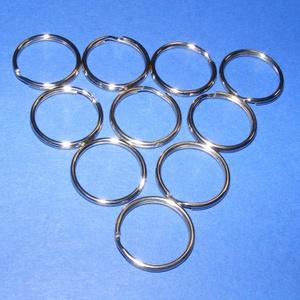 Kulcskarika (460/C minta/10 db) - 25 mm, Csat, karika, zár, Mindenmás, \nKulcskarika (460/C minta) - nikkel színben\n\nMérete: 25x2 mmAz ár 10 darab termékre vonatkozik.\n\r\n..., Meska