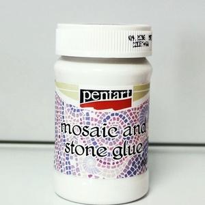 Pentart mozaik- és kavicsragasztó (1 db) - 100 ml, Ragasztó, Mindenmás, \nPentart mozaik- és kavicsragasztó - vizesbázisú Sűrű, áttetszőre száradó ragasztó és lakk egyben mo..., Meska