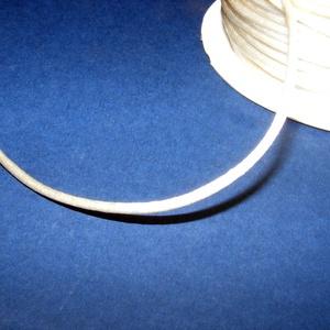Szatén zsinór - 2 mm (ZS33. minta/1 m) - vanília - Meska.hu