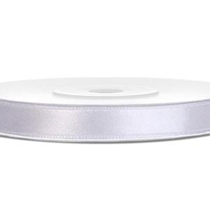 Szaténszalag 10mm.(104. minta/1 m) - fehér, Textil, Varrás, \nSzaténszalag (104. minta) - fehér\n\nA szaténszalag selyem vagy szintetikus alapanyagból készülő, kül..., Meska