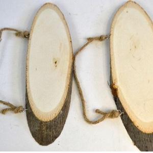 Fa szelet ovális kicsi  (20x7-9 cm/1 db) - fa - Meska.hu