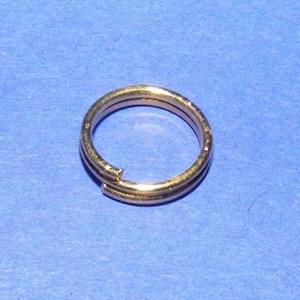 Szerelőkarika (1015/A minta/20 db) - 4 mm - gyöngy, ékszerkellék - Meska.hu