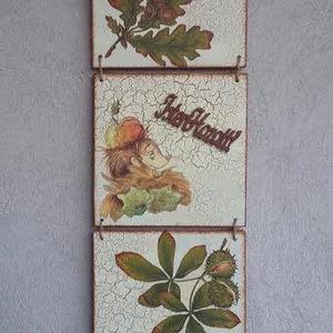 Isten hozott köszöntő tábla (csinaldmesike) - Meska.hu