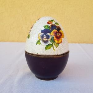 Kerámia tojás bonbonier (csinaldmesike) - Meska.hu